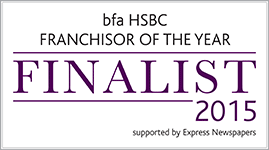 BFA HSBC Franchisor of the Year 2015