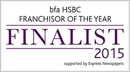 BFA HSBC Franchisor of the Year 2015