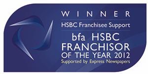 bfa HSBC Franchisor of the Year Winner