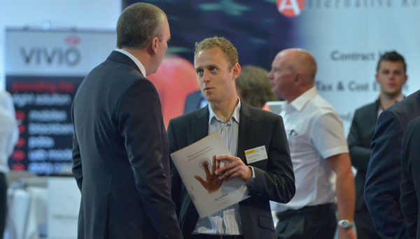 Stephen Sowerby at an Auditel Supplier Exhibition