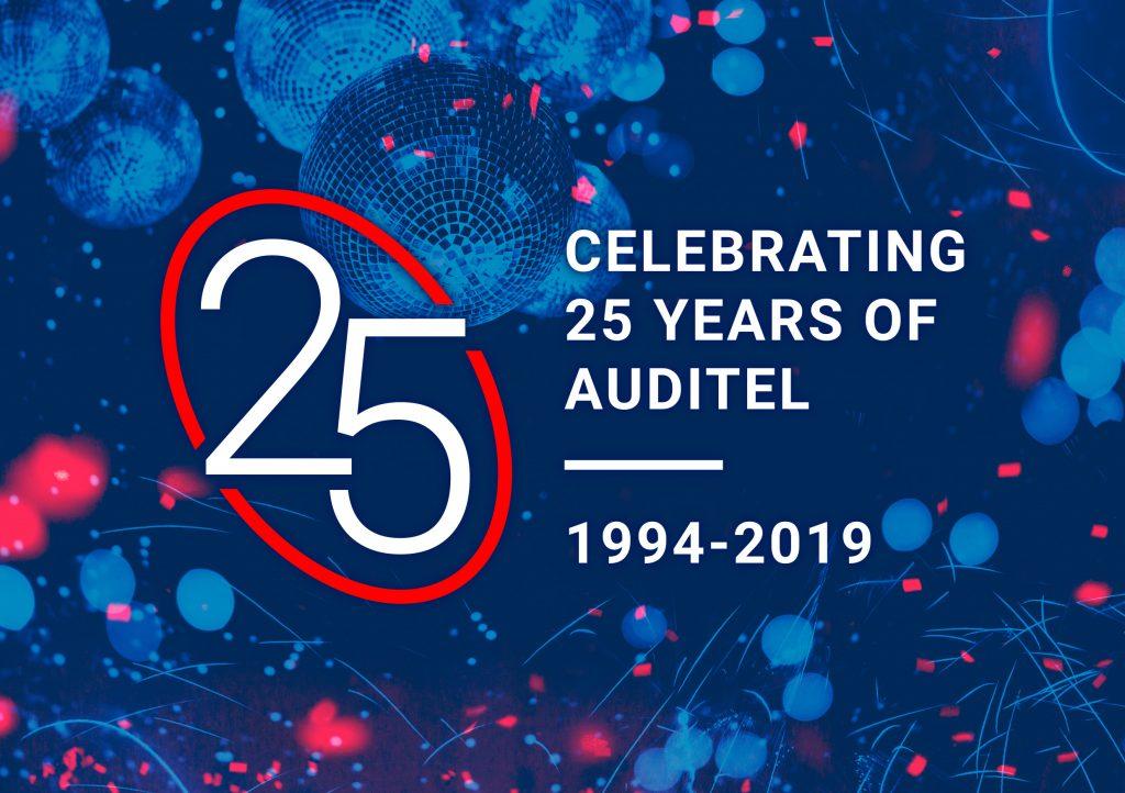 Auditel 25-year anniversary