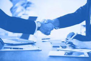 Auditel Franchise Hand Shake